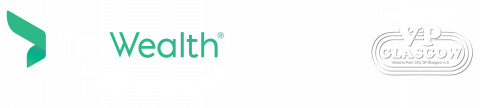 Truwealth footer logo and VP Glasgow