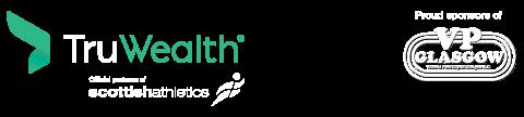 Truwealth footer logo and VP Glasgow